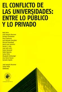 El conflicto de las universidades entre lo público y lo privado